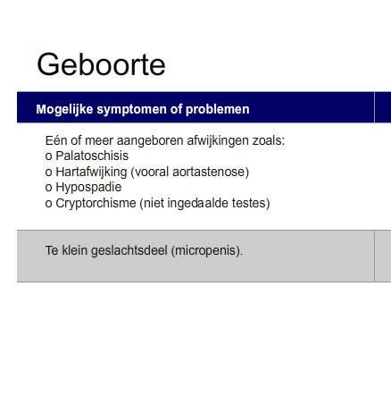 Kenmerken En Behandeling Per Leeftijdscategorie Medische